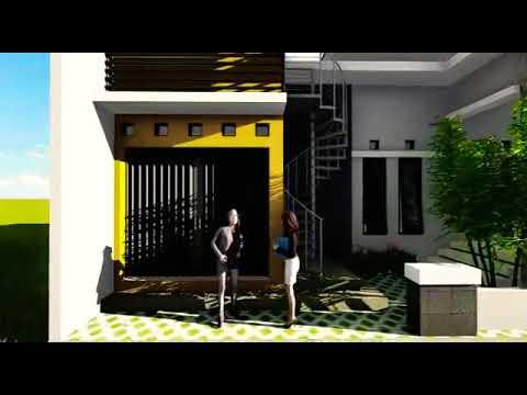 Desain Rumah 1 Lantai Toko 085643718331 Youtube