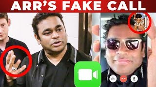 A.R.Rahman Receives FAKE call from a kid