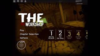 Playing roblox but the ink workshop that means bendy and the ink machine X3