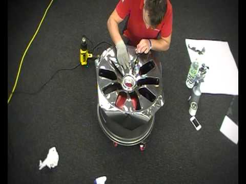 Chrome Car Wrap >> Alloy Wheel Wrapping | Reforma UK - YouTube