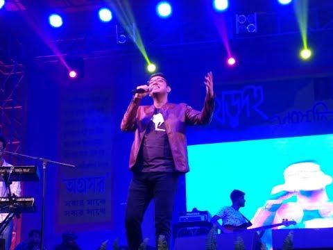 Ami Aajkal Bhalo Achhi - Anupam Roy's Live Concert At Khardah (HD)