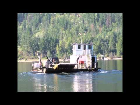 Adams Lake cable ferry