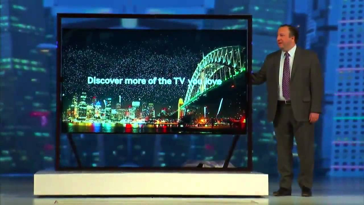85 Zoll Samsung S9 Tv With 85 Zoll And 4k Display Ces 2013 Hd Youtube