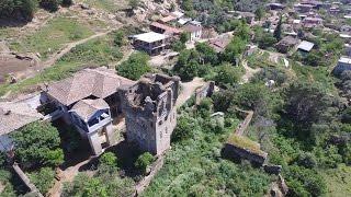 Arpaz Kulesi ve Konağı [Esenköy, Nazilli/Aydın] Havadan