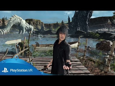 Monster of the Deep: Final Fantasy XV | TGS 2017 Trailer | PlayStation VR