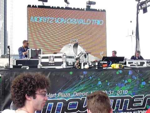 Moritz Von Oswald Trio w/ Carl Craig on Red Bull Stage, Movement 2010