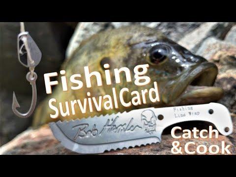 Survival Fishing Catch N'Cook -Bluegill- Grim Card