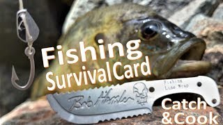 Survival Fishing Catch n'Cook -Bluegill- Grim Card