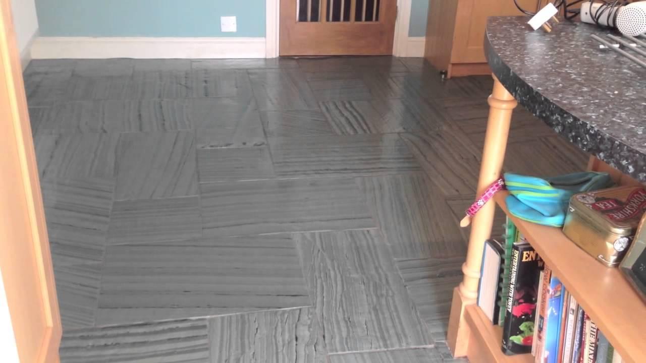 Slate Floor Restoration Somerset YouTube