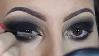 ♡ Black Smokey Eye ♡ Make Up ♡   , how to make up, make up 2015