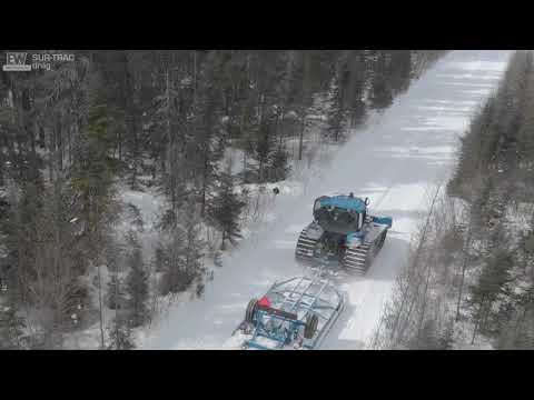 Sur-Trac Snowmobile Trail Grooming Drag By Ebert Welding