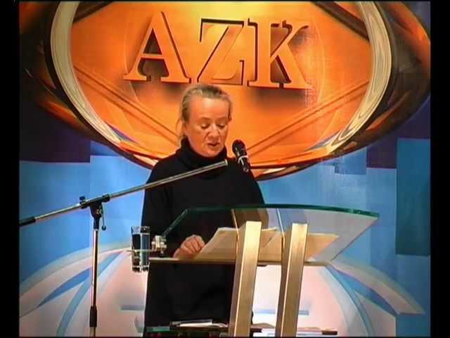 2. AZK - Inge M. Thürkauf - Von der biologischen Revolution zur Gefahr des Genderismus