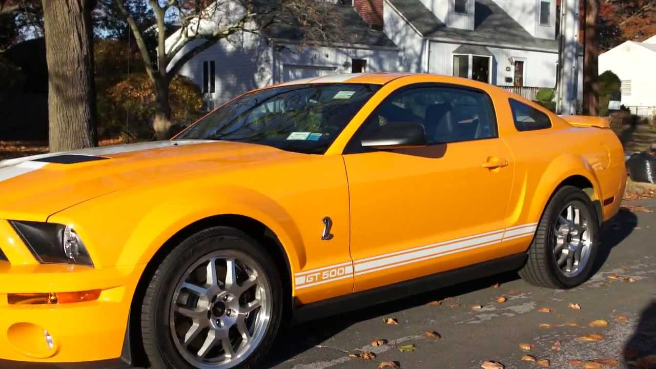 2008 shelby gt500 for sale grabber orange loaded like new only 456 miles youtube. Black Bedroom Furniture Sets. Home Design Ideas