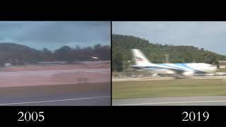 Koh Samui Take Off (Leaving) 2005 vs 2019