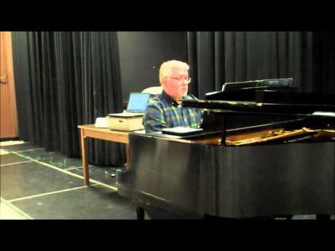 "Rick Robertson plays ""Chanson"" - November 21, 2015"