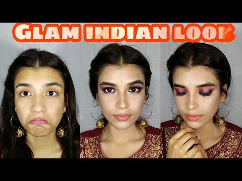 North Indian Glam look+super affordable | Ritika Sengupta
