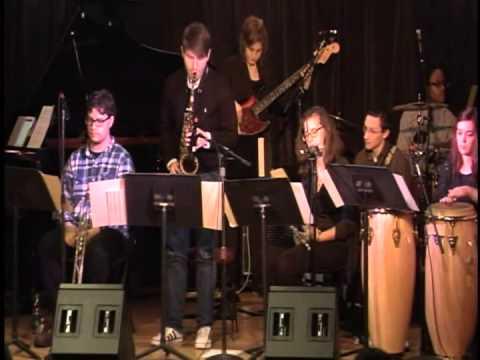 Berklee Latin Jazz Ensemble Full Concert, Directed by Dan Moretti. December 2014.