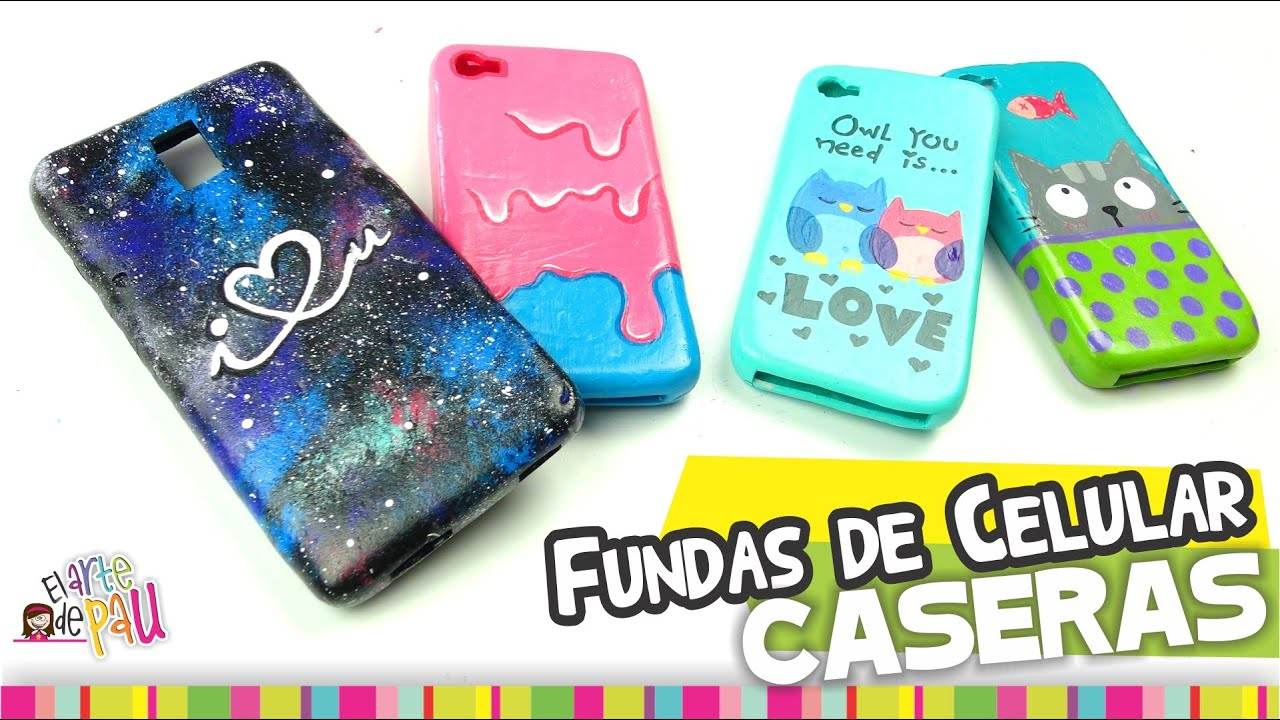 Fundas para Celular de SILICÓN/ Cellphone silicon case - YouTube