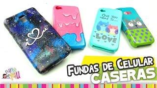 MEDIO✔ Fundas para Celular de SILICÓN/ Cellphone silicon case