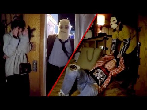 Terrifying THE STRANGERS EXPERIENCE for Prey at Night