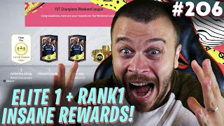 FIFA 20 MY ELITE 1 FUT CHAMPIONS amp RANK 1 DIVISION RIVALS REWARDS ARE INSANE WE PACK A HUGE WALKOUT