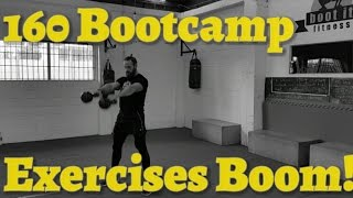 160 Bootcamp Exercise Workout Ideas Full Body Weight, Kettle Bell, Bag