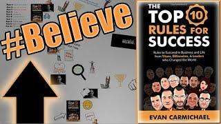 "Animated Book Summary! | ""Top 10 Rules for Success"" Evan Carmichael"