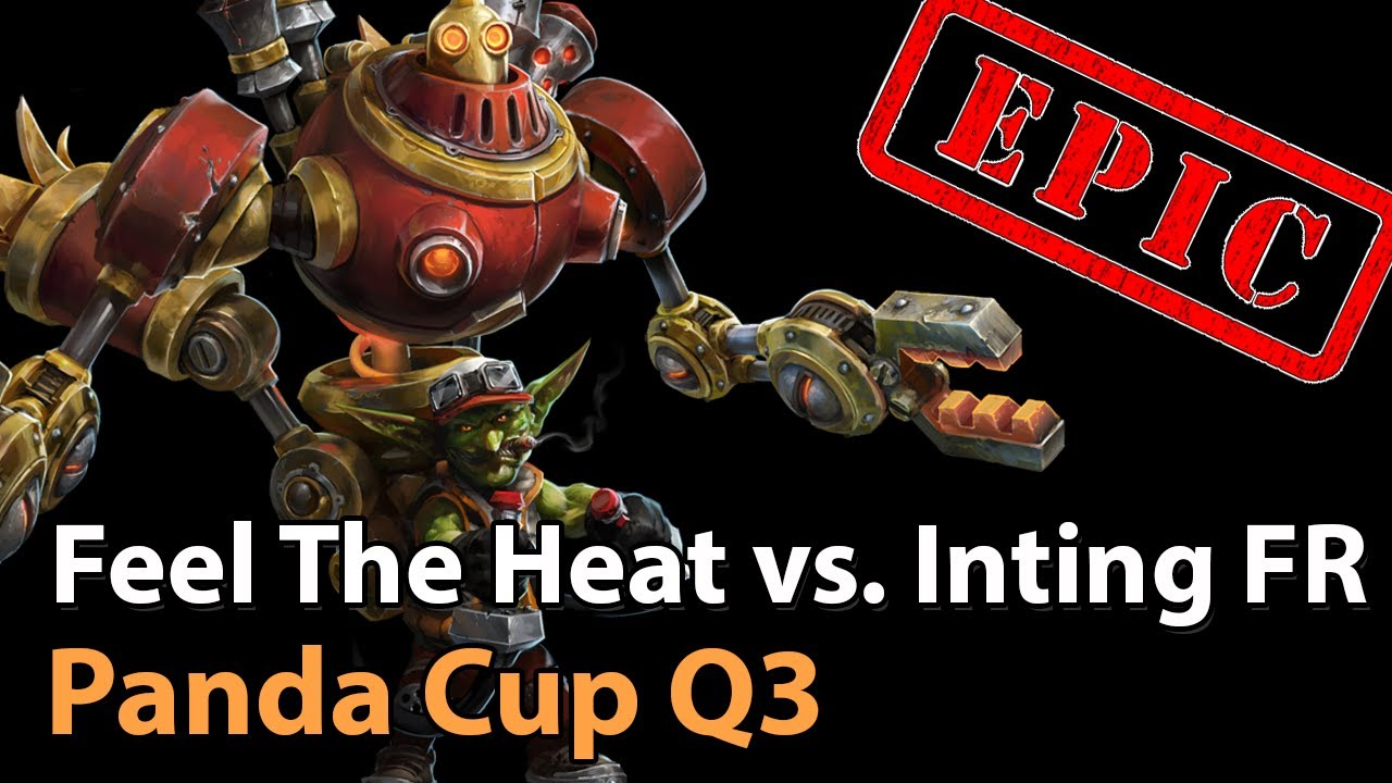 ► EPIC Feel The Heat vs. Inting for Ruby - Panda Cup Q3 -  Heroes of the Storm Esports