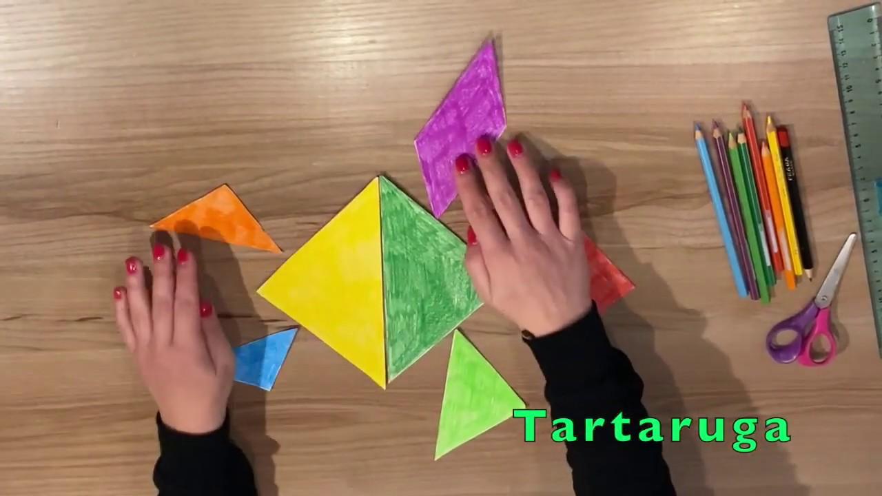 il gioco del tangram  allenare la creatività dei bambini