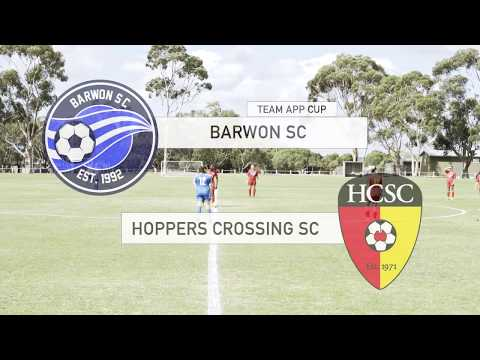 Barwon vs Hoppers Crossing - Team App Cup Round 2, Full Game