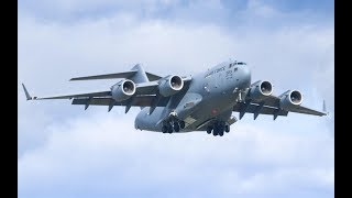C-17 Globemaster III - Incredible Sight Off South Beach | 2018 MB Air Show