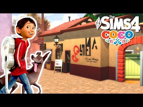 Los Sims 4 Speed Build   COCO - Dia de Muertos   La casa de la familia Rivera thumbnail