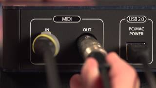 PreSonus AudioBox i Series QSG, Part 2 of 6: Interface Overview auf Deutsch
