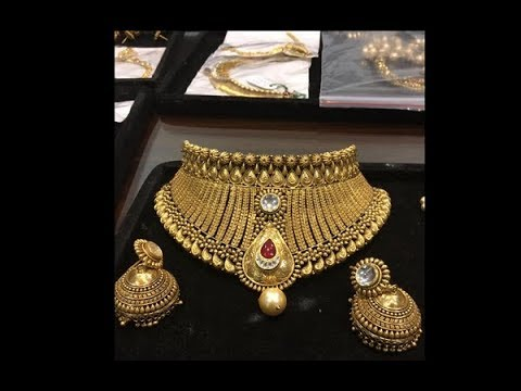 Antique Bridal Gold jewellery Collection