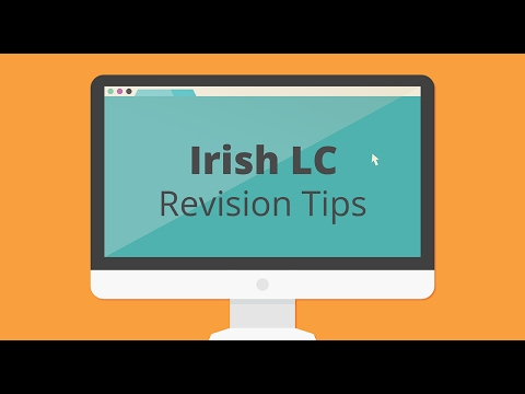 Leaving Cert Irish - Revision Tips