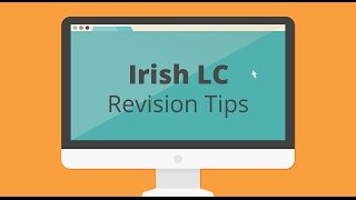 Leaving Cert Irish - Revision Tips