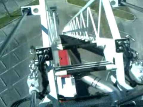 pierce 100 foot fire engine ladder part 2 youtube