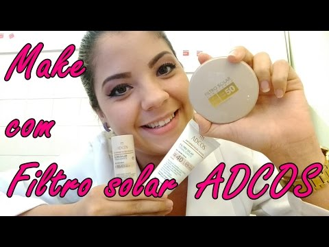 Maquiagem Com Filtro Solar ADCOS - Preparação e Cuidados