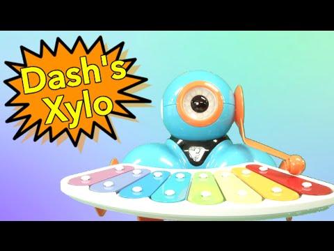 Robot Dash's Xylophone From Wonder Workshop