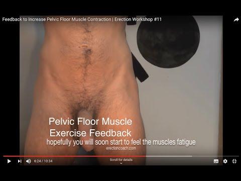 Feedback to Increase Pelvic Floor Muscle Contraction | Erection Workshop #11