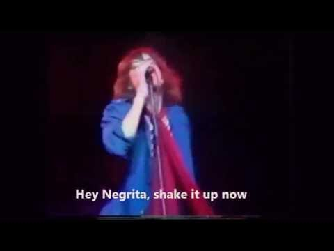The Rolling Stones - Hey Negrita LIVE 76 (Lyrics subtitles)