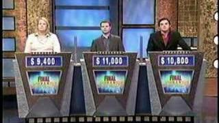 Final Jeopardy 6/13/05