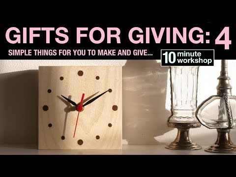 Gifts for giving #4: Mantle Clock