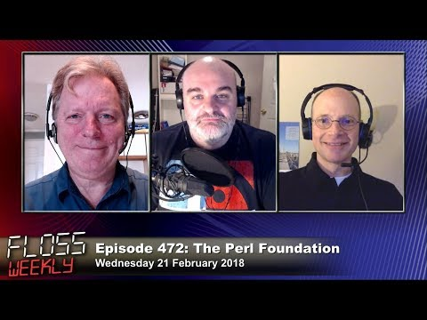 FLOSS Weekly 472: The Perl Foundation