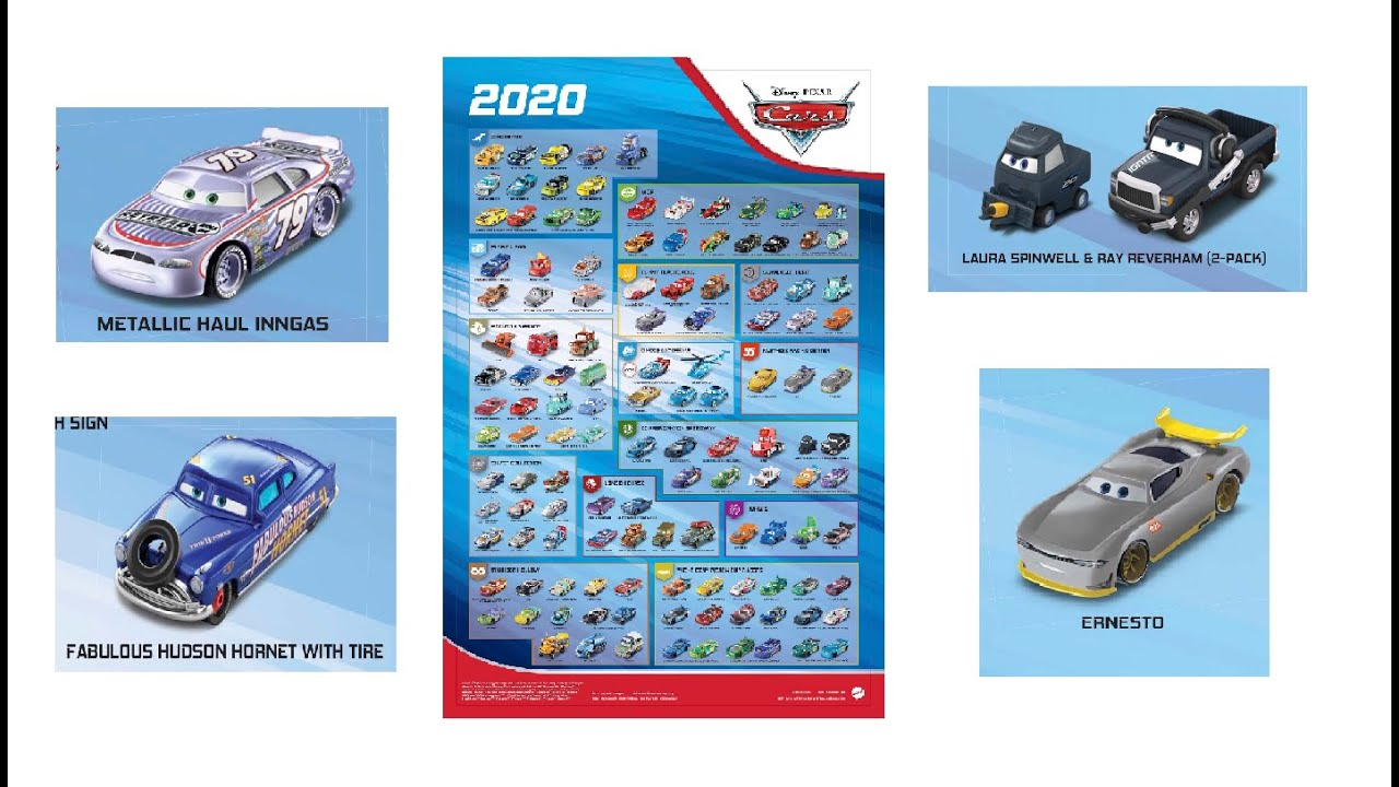 Collectors Link News Episode 8 New 2020 Cars Poster Revealed