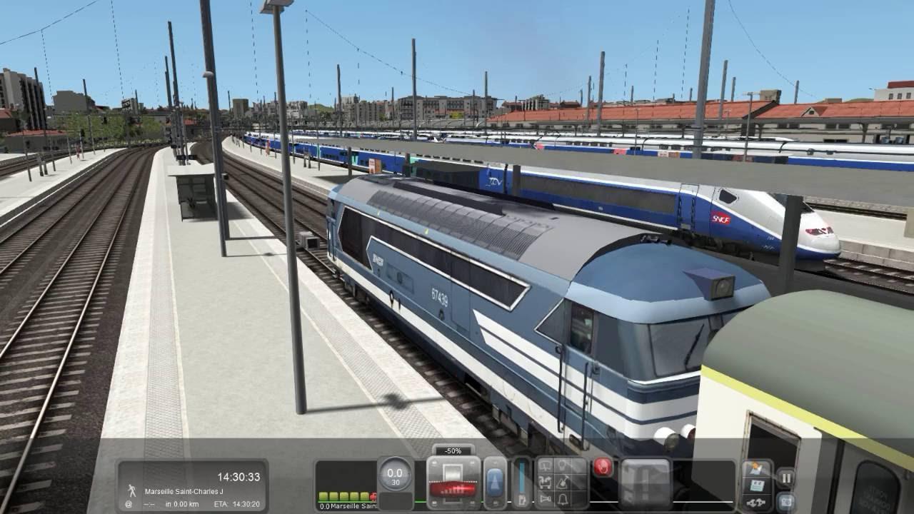 train simulator 2016 scenario marseille martigue youtube. Black Bedroom Furniture Sets. Home Design Ideas