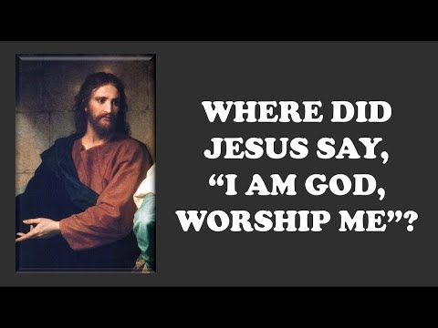 """Comparative Religion: """"Did Jesus Claim To Be God?"""" (full debate)"""