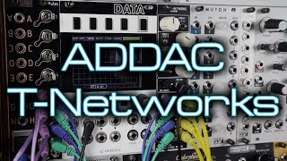 ADDAC System 103 T-Networks // 4 classic vintage analogue drum voices in Eurorack