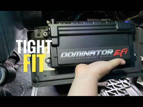 Figuring Out Where And How To Mount The Holley Dominator