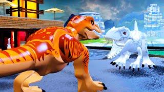 LEGO Jurassic World Defeat The Final Boss, THE END 'Jurassic World'